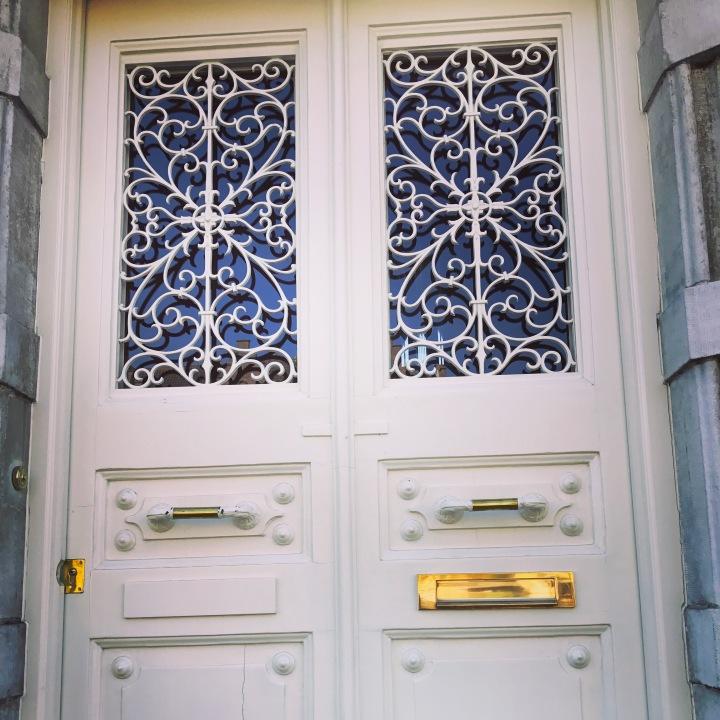 Fancy over doors &knobs